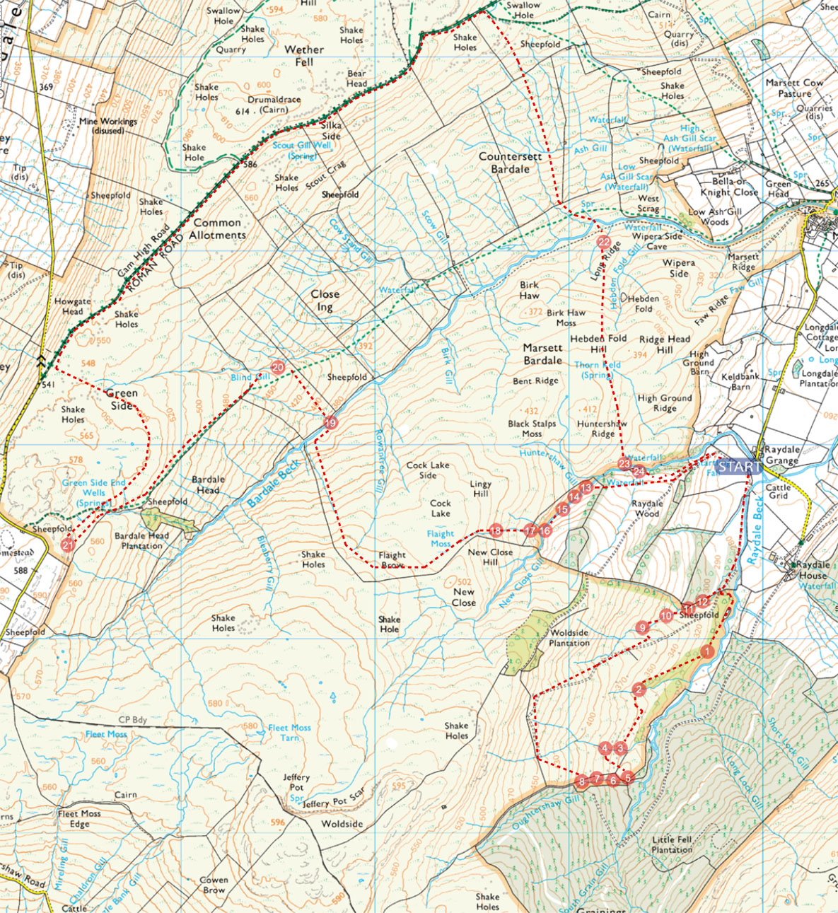 Wainwright Map 2015